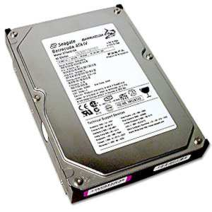 Common look of a hard drive.